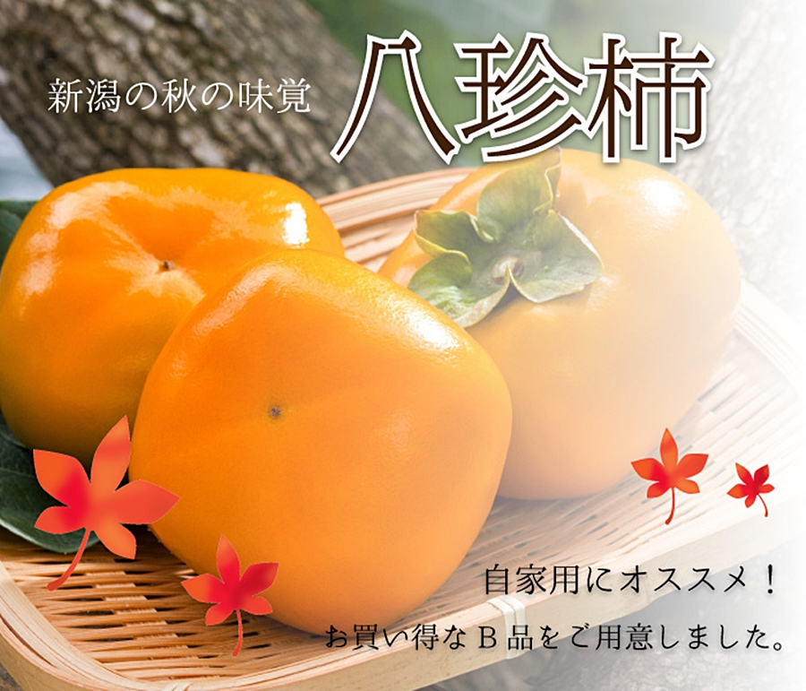 さわし柿・八珍柿